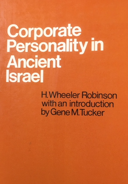 Image for Corporate Personality in Ancient Israel (Revised Edtion - 1980)