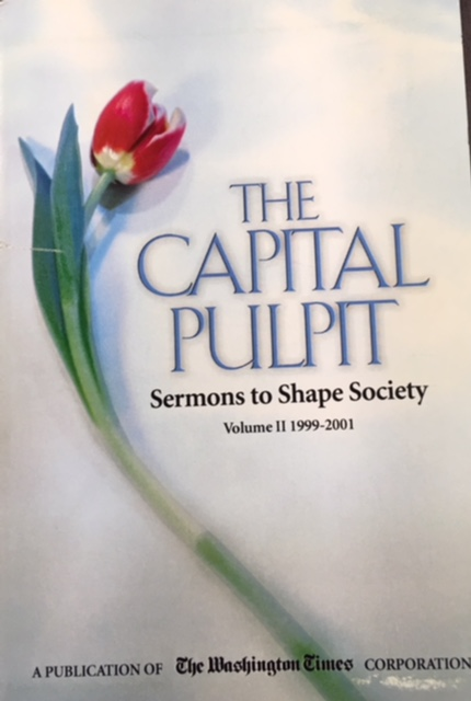 Image for The Capital Pulpit: Sermons to Shape Society (Vol II: 1999-2001)