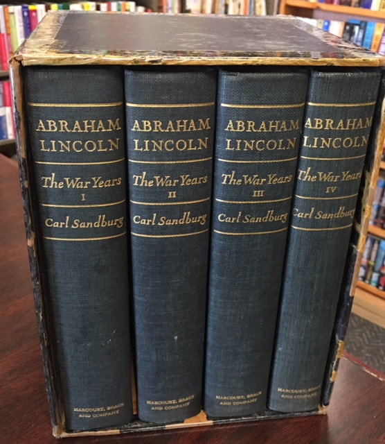 Image for Abraham Lincoln: The War Years, 4 volume set (complete)