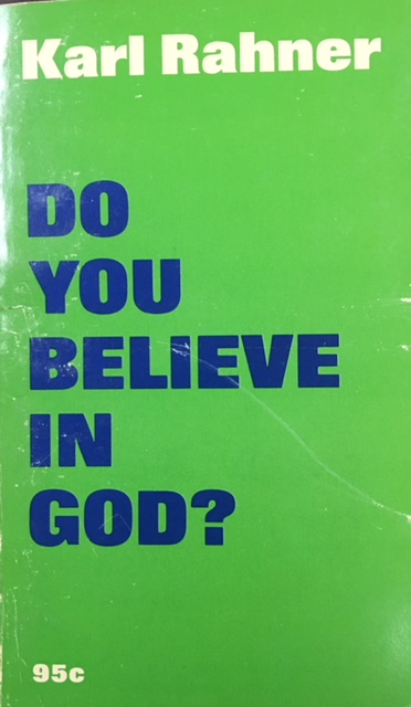 Image for Do You Believe in God?