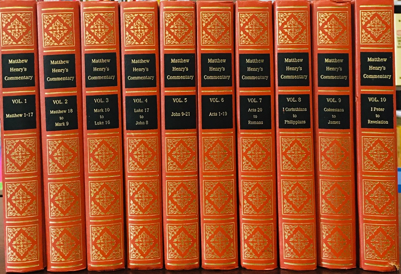 Image for Matthew Henry's Commentary on the New Testament (10 volume)