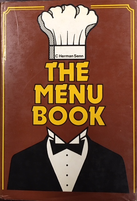 Image for The Menu Book and Check-List Of Dishes (Revised)