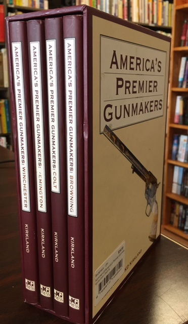 Image for America's Premier Gunmakers (4 Volume Set in Slipcase)