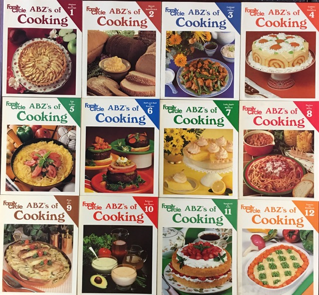 Image for Family Circle ABZ's of Cooking (Complete Set of Twelve (12) Volumes in Slipcase)