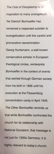 Image for The Other Bonhoeffer: An Evangelical Reassessment of Dietrich Bonhoeffer