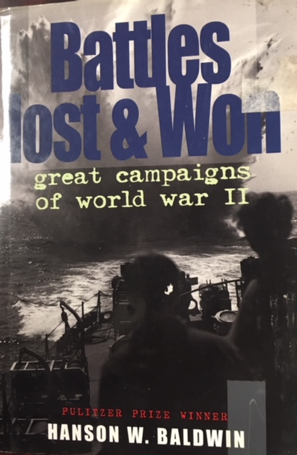 Image for Battles Lost & Won Great Campaigns of Wo