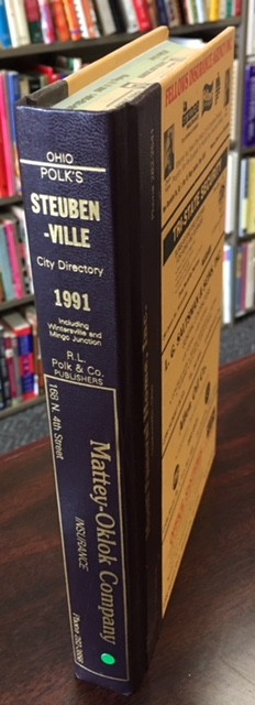 Image for 1991 Steubenville Ohio City Directory [Including Wintersville And Mingo Junction]