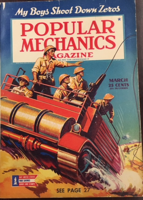 Image for Popular Mechanics Magazine - Vol 79, No. 3 (March 1943)