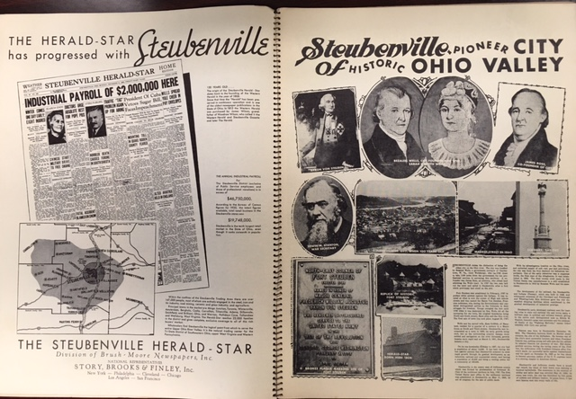 Image for Steubenville, Ohio: A Pictorial Study of Civic and Commercial Enterprises