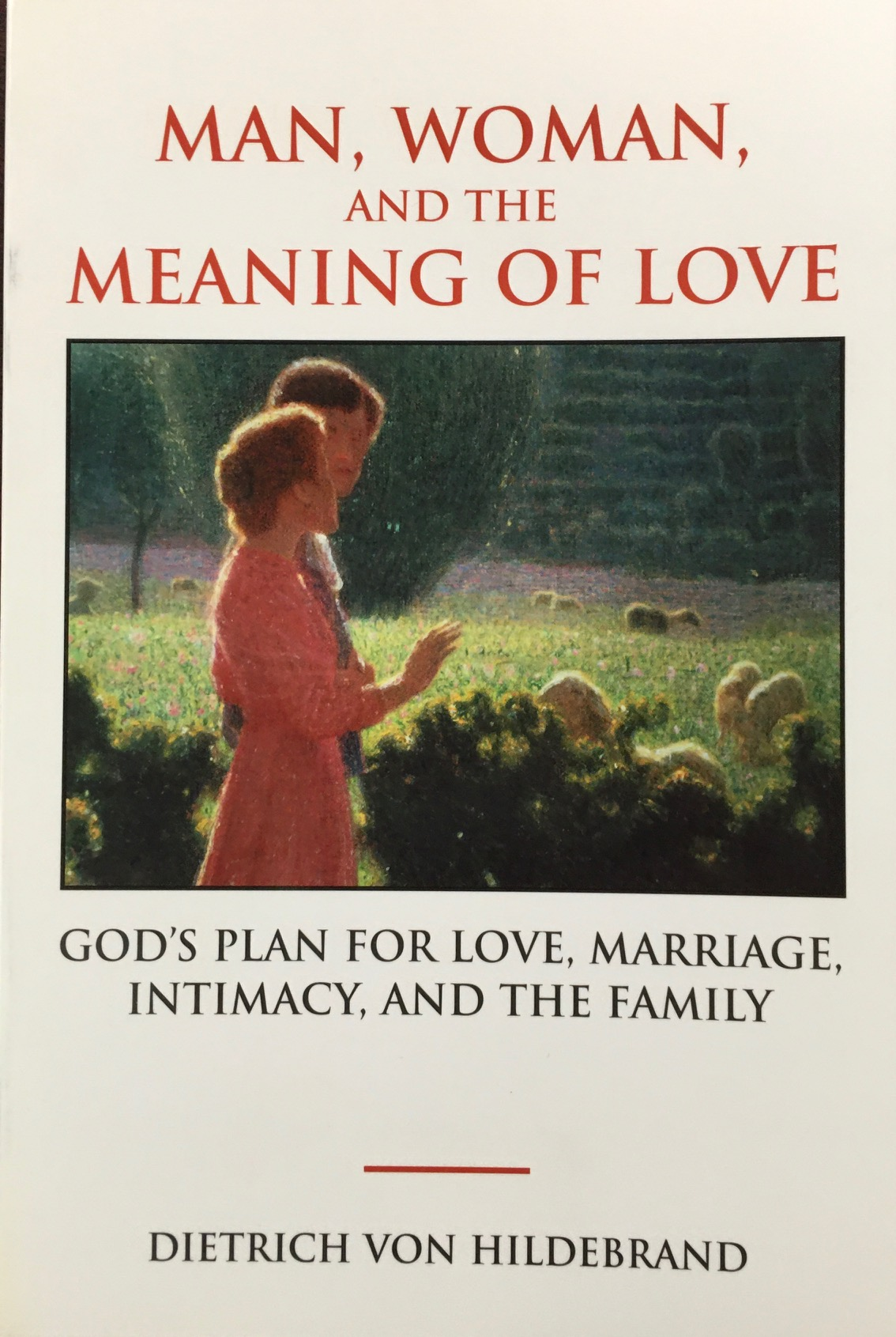 Image for Man, Woman, and the Meaning of Love : Gods Plan for Love, Marriage, Intimacy, and the Family