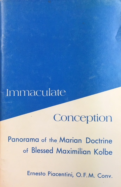 Image for Immaculate Conception: Panorama of the Marian Doctrine of Blessed Maximilian Kolbe