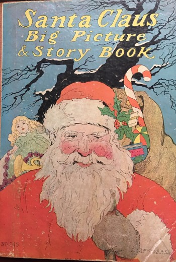 Image for Santa Claus Big Picture and Story Book