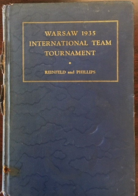 Image for Book of the Warsaw 1935 International Chess Team Tournament (The Modern chess library, Volume 5)