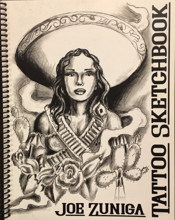 Image for Joe Zuniga Sketchbook (Vol. 2 - Life and Death Sketchbook)