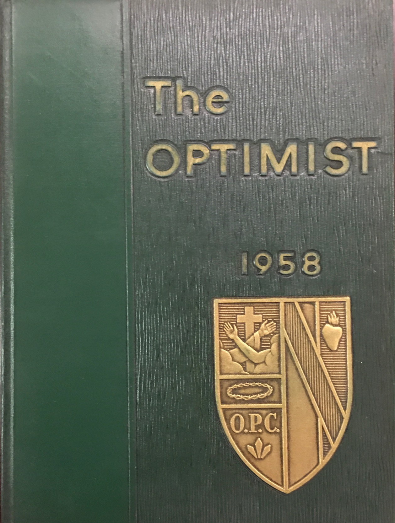 Image for The Optimist: 1958 College of Steubenville Yearbook (Franciscan University of Steubenville)