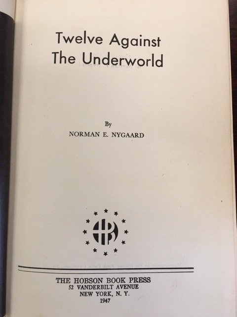 Image for Twelve Against the Underworld