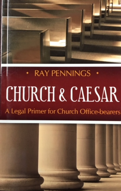 Image for Church and Caesar: A Legal Primer for Church Office-bearers