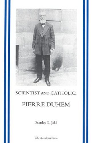 Image for Scientist and Catholic: Pierre Duhem