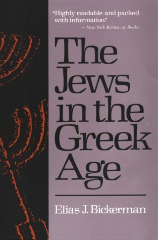 Image for The Jews in the Greek Age