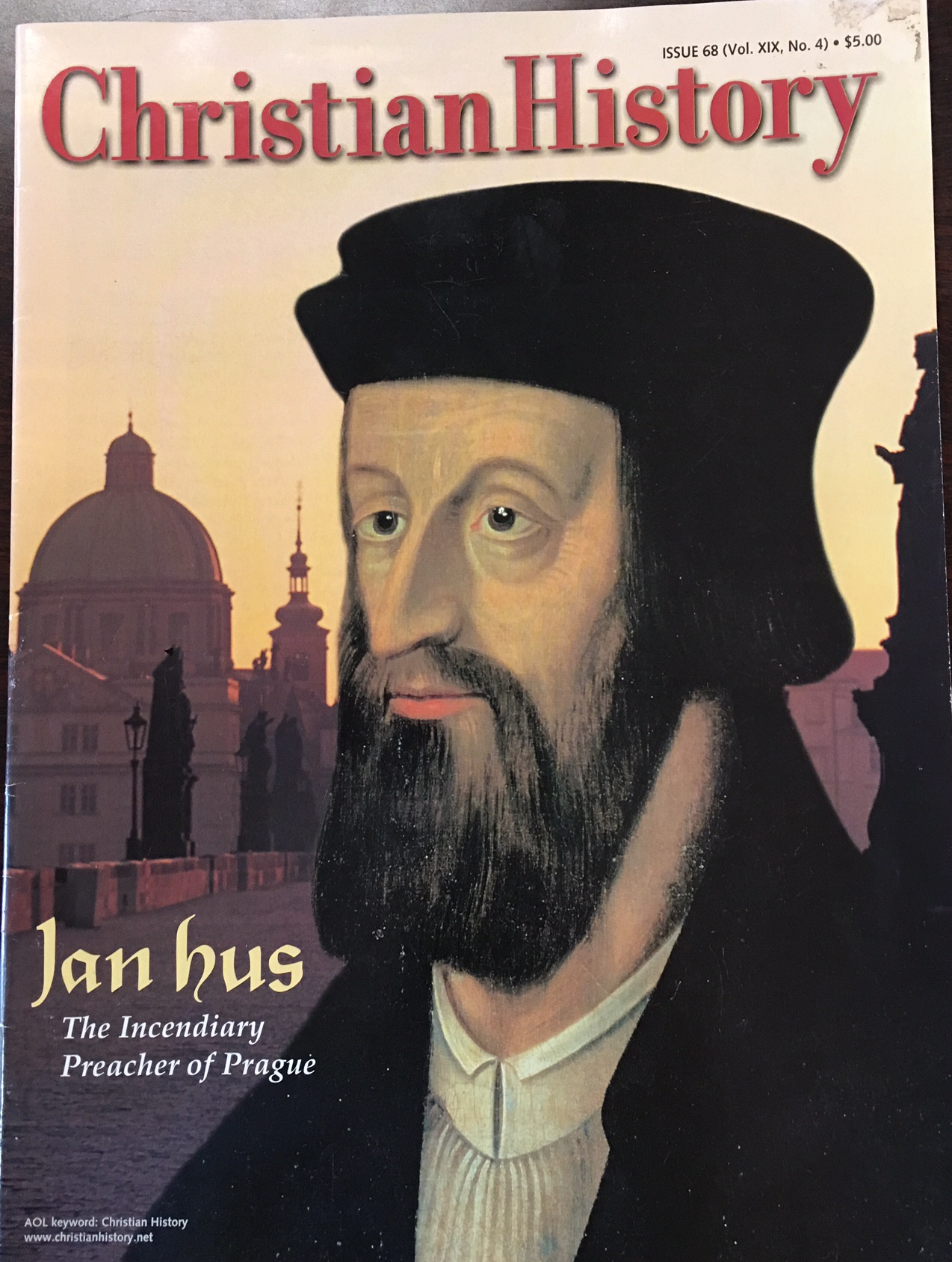 Image for Jan Hus, The Incendiary Preacher of Prague - Christian History Magazine, Issue 68 (Vol. XIX, No. 4)