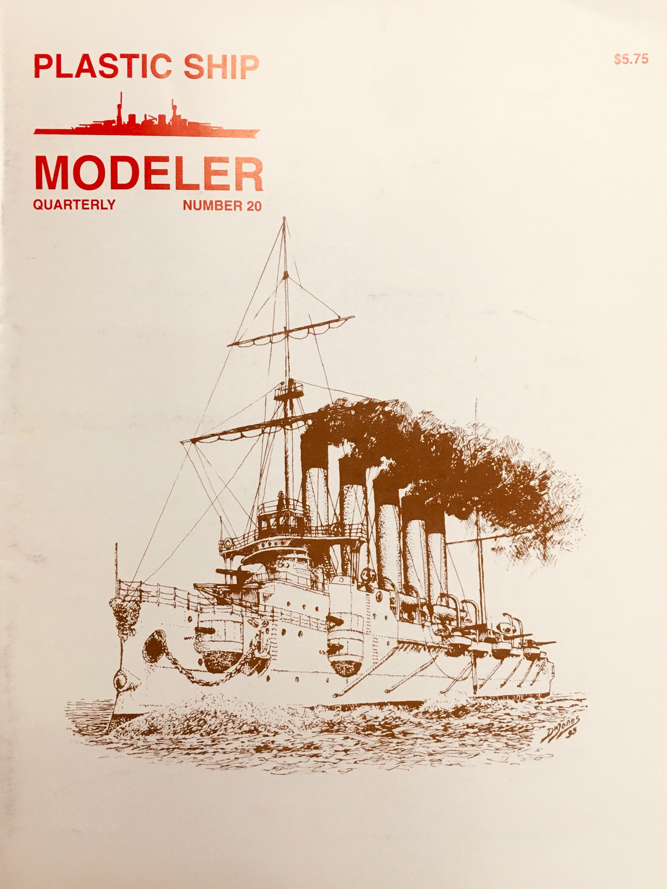 Image for Plastic Ship Modeler (Numbers 18, 19, 20, 21, 22)
