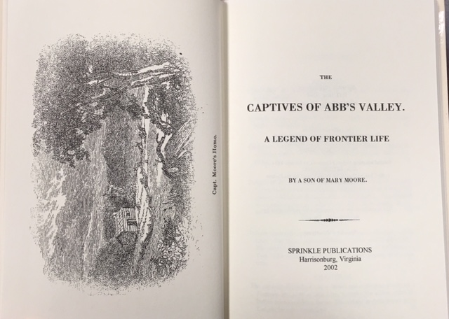 Image for The Captives of Abb's Valley: A Legend of Frontier Life