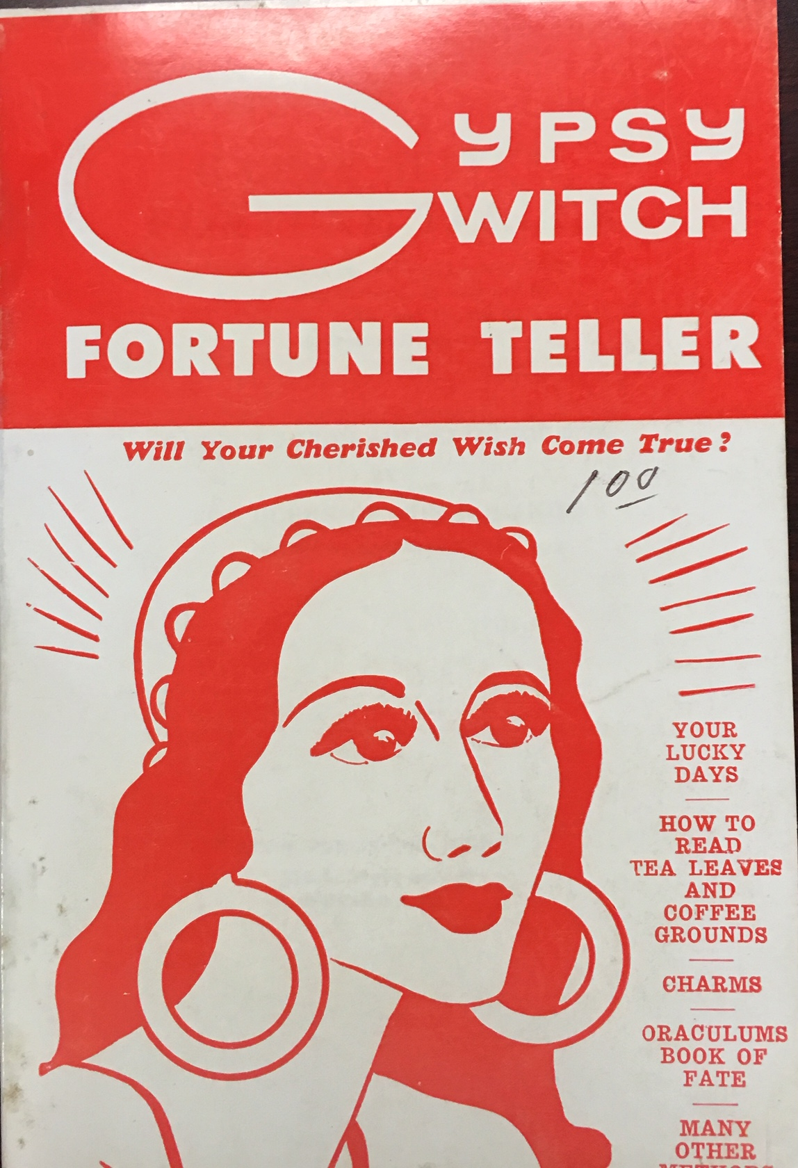 Image for Gypsy witch fortune teller: Gathered from authentic sources by the Queen of the Romanies