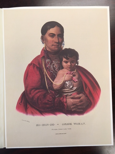 Image for Mo-Hon-Go, Osage woman (Keepsake)