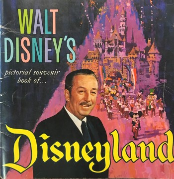 Image for Walt Disney's Pictorial Souvenir Book of Disneyland (First Edition)