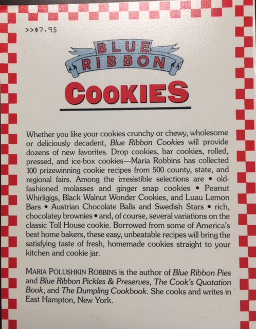 Image for Blue Ribbon Cookies