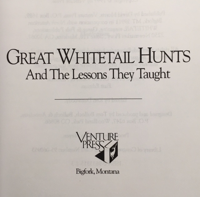 Image for Great Whitetail Hunts: and the Lessons They Taught