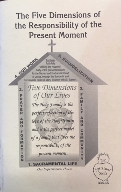 Image for The Five Dimensions of the Responsibility of the Present Moment