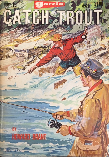 Image for How to Catch Trout. Garcia Fishing Library 8921