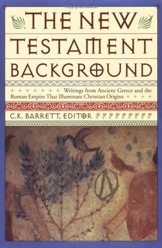 Image for New Testament Background: Selected Documents: Revised and Expanded Edition