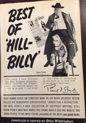 Image for Best Of 'Hillbilly': A Prize Collection Of 100-Proof Writing From Jim Comstock's West Virginia Hillbilly (a paper For people who can't read, edited by an editor who can't edit) [Signed]