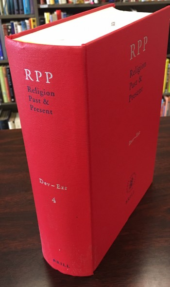 Image for Religion Past & Present: Encyclopedia of Theology and Religion (Volume IV: Dev-Ezr)