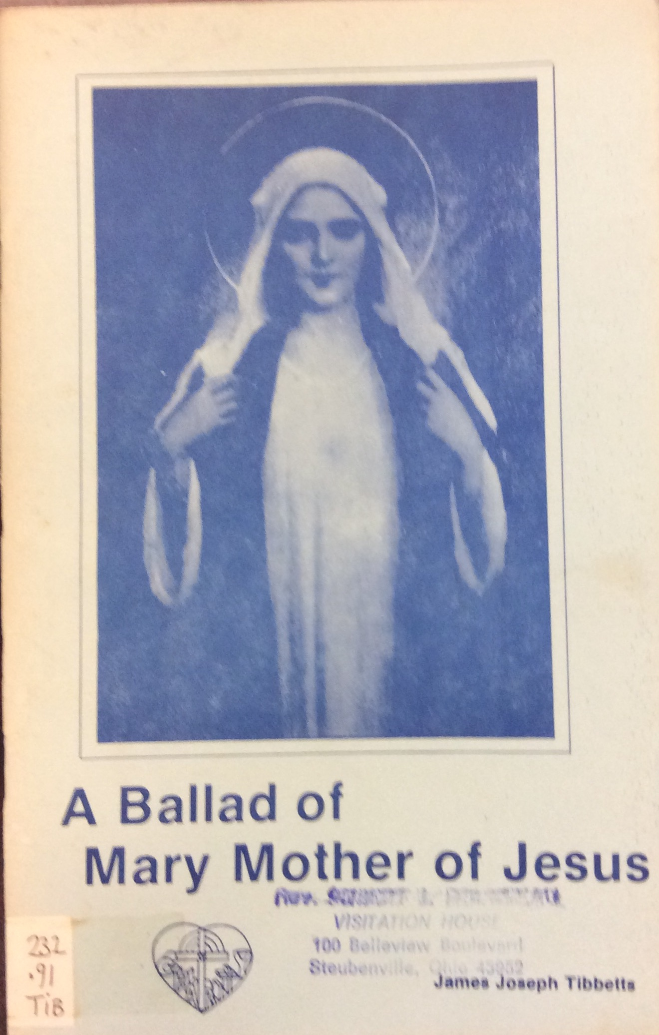 Image for A Ballad of Mary Mother of Jesus