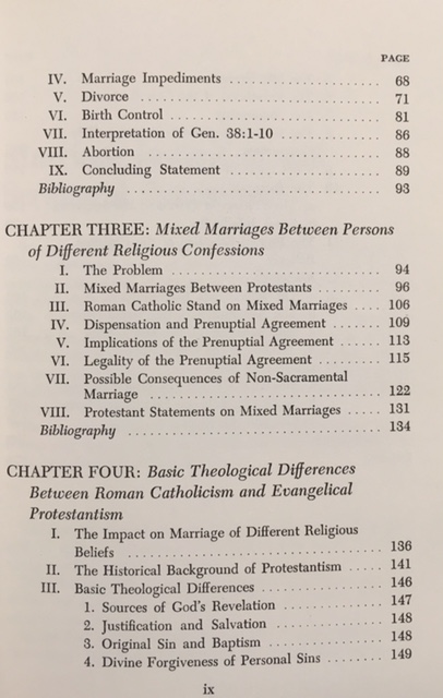 Christian Marriage Today a Comparison of Roman Catholic and Protestant Views