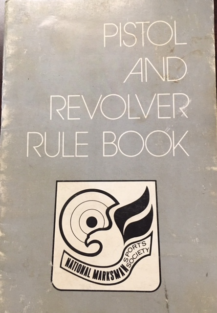 Image for Pistol and Revolver Rule Book