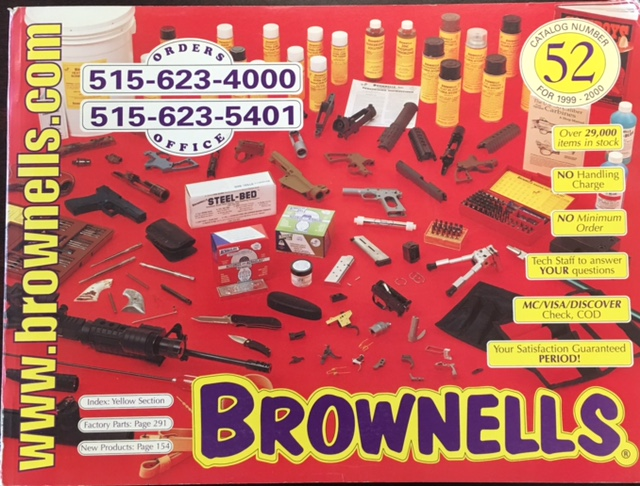 Image for Brownells Catalog #52 (1999-2000)