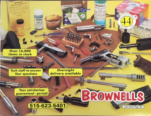 Image for Brownells Gun Supply Catalog #44 (1991-1992)