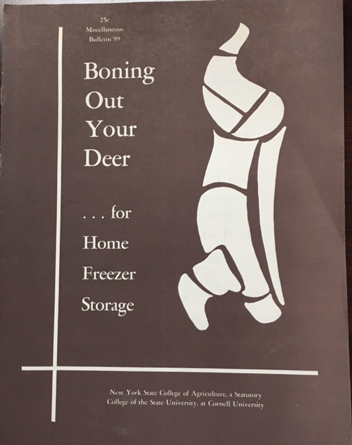 Image for Boning Out Your Deer ... For Home Freezer Storage