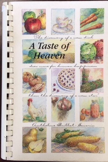 Image for A Taste of Heaven: A Collection of Recipes by Members of the Wintersville United Methodist Church
