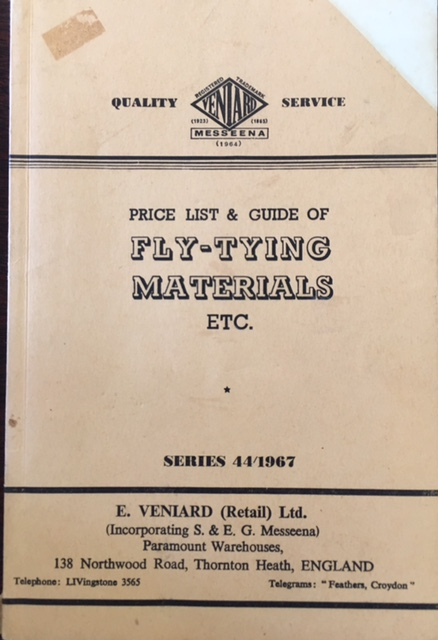 Image for Fly-Tying Materials - Series 44/1967