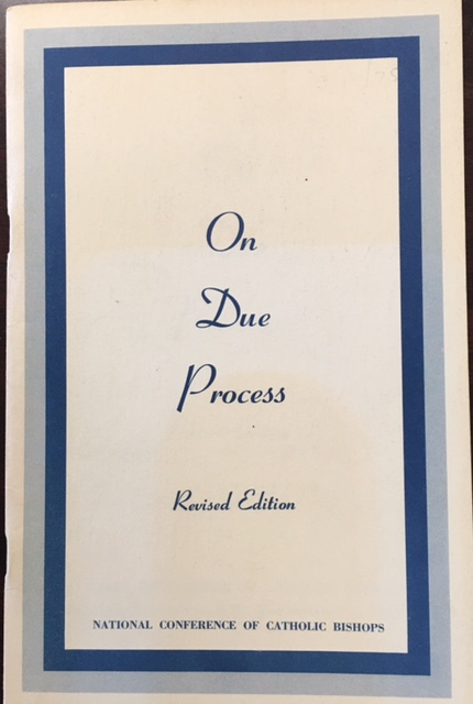 Image for On Due Process (Revised Edition)