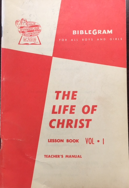 Image for The Life of Christ: A Textbook For Teachers of Children World-Wide (Volume I)