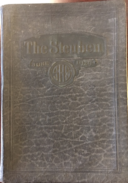 Image for The Steuben: 1929 Steubenville High School Yearbook, Steubenville, Ohio