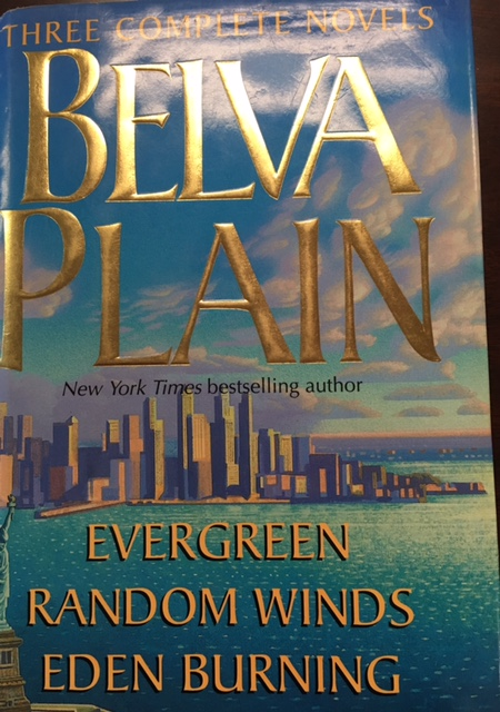 Image for Wings Bestsellers Romance: Belva Plain: Three Complete Novels (Eden Burning, Random Winds, Evergreen)