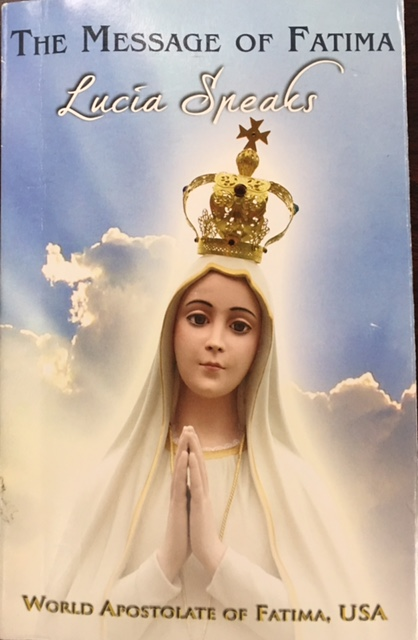 Image for The Message of Fatima Lucia Speaks/Fatima Prayer Cell Program