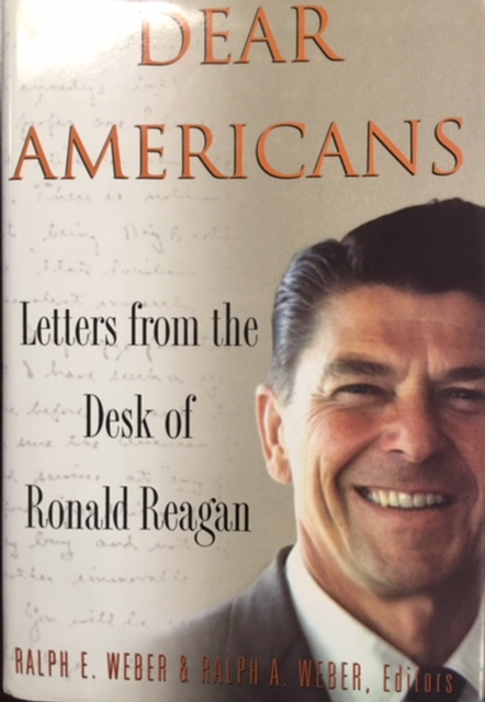Image for Dear Americans - Letter from the Desk of Ronald Reagan (LARGE PRINT)